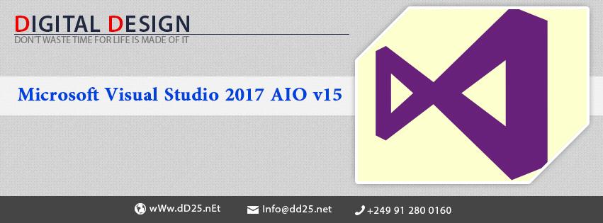 Photo of Microsoft Visual Studio 2017 AIO v15.4 Multilingual
